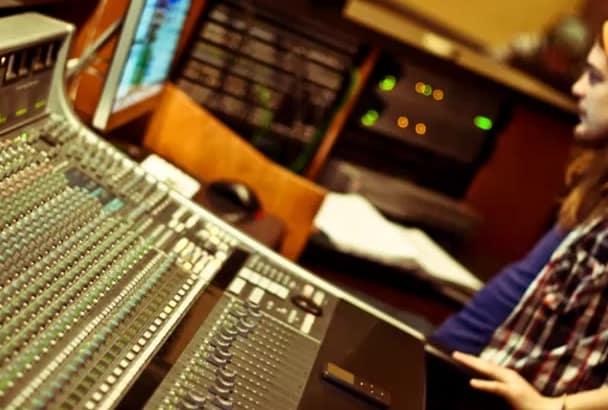 do high quality audio editing