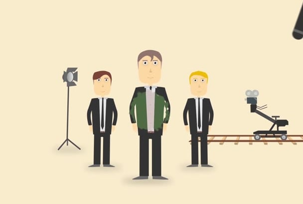 create a custom made 2D explainer video