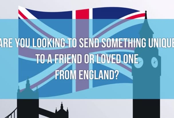 send a Handwritten LETTER from England