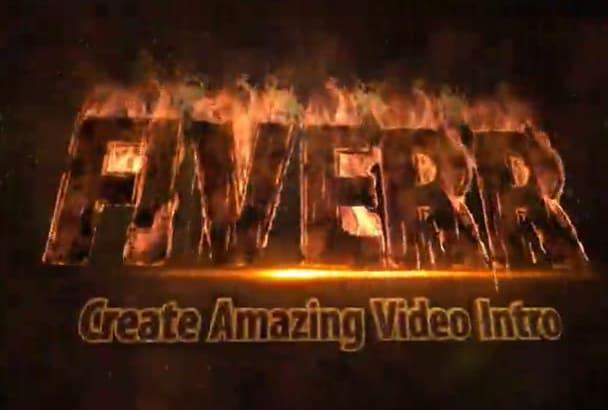 create Amazing Video Intro