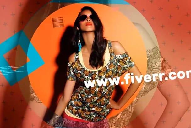 make fashion promo video