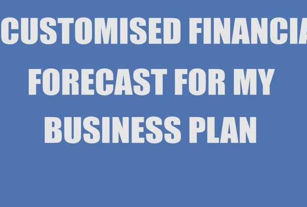 prepare detailed financial for your business plan