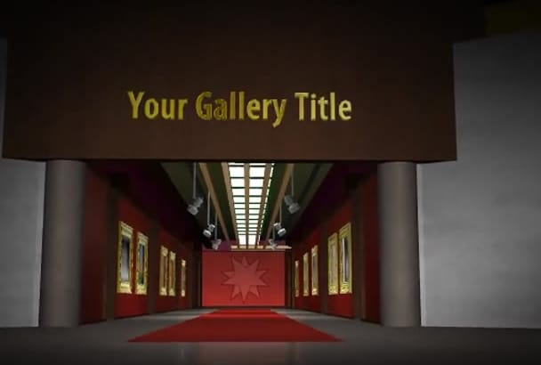do this Art Gallery Images or slideshow Video