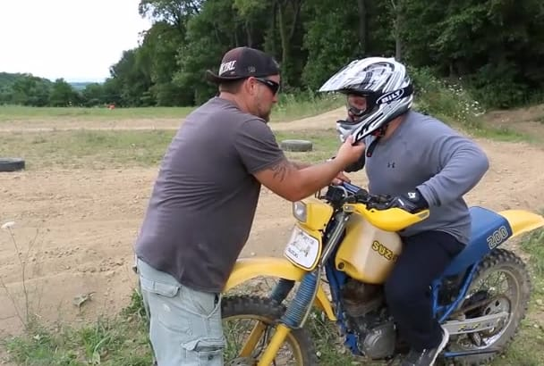 skype with you to improve your motocross skills