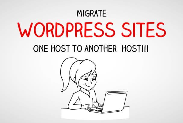 migrate Wordpress sites in 24 hours