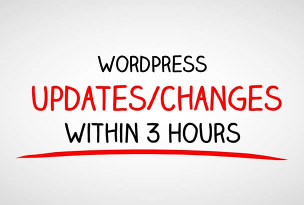 provide the best WordPress updates changes