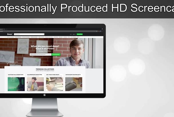 record HD video with English Voice Over in 24 Hours