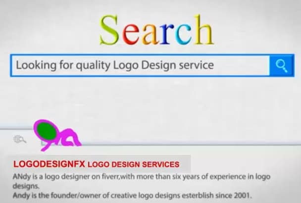 design a Minimal 2D LOGO for your Business