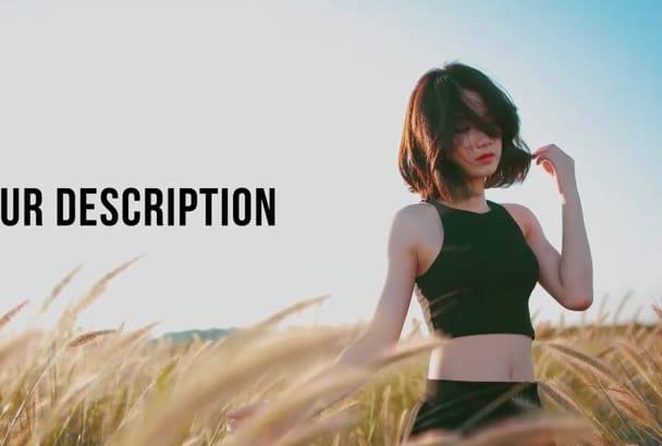 create EPIC Parallax Slideshow Video