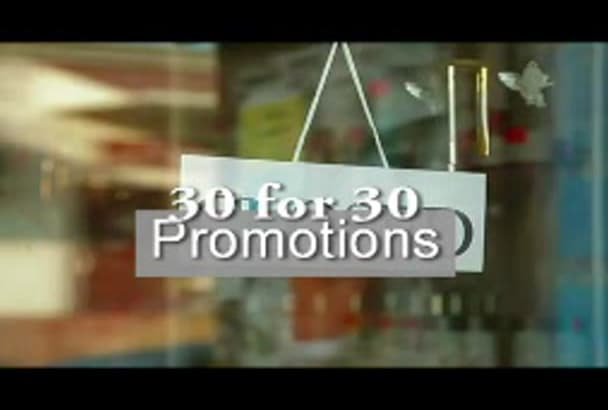 provide promotion options for women including commercials, banners and interview