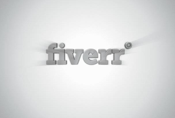animate this 3D logo intro