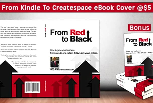 design Free Cover and Format your Book for Createspace