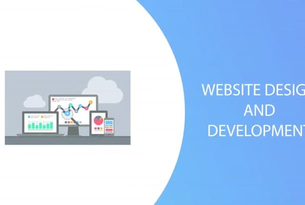 create an awesome responsive website for you