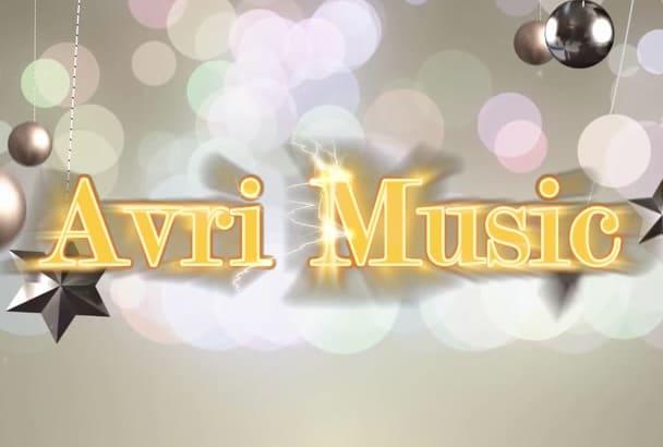 produce instrumental background music