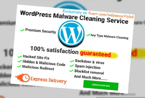 fix Hacked wordpress and remove malware or Hacked Virus FAST