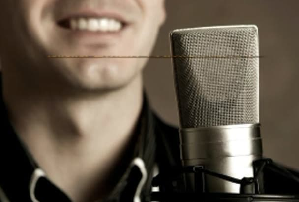 record Professional Male Voice Over in every language
