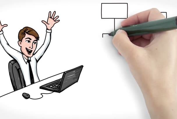 create Professional White Board Animation in just 5