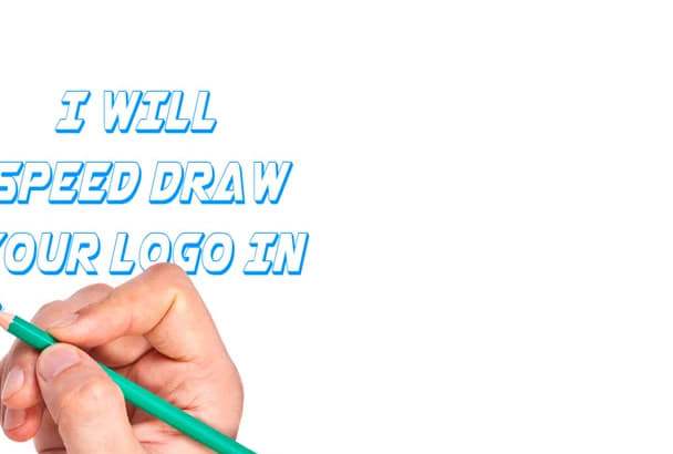 do logo speed drawing animation video
