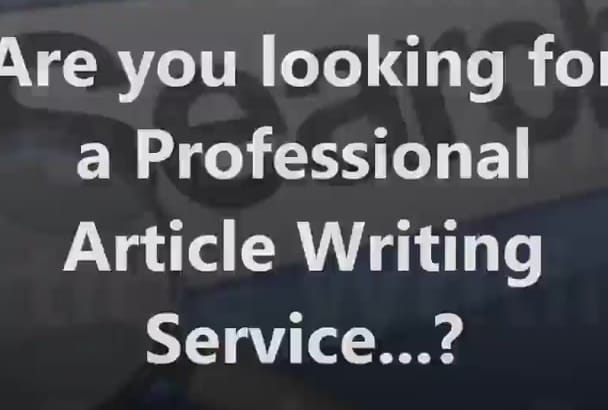 write SEO articles of 500 to 600 words