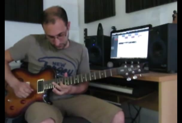 write a guitar solo for you
