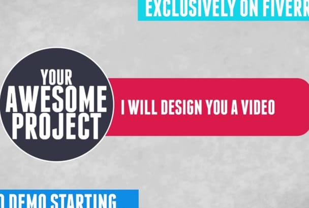 design Your HD Youtube Promotion Video 1080P Max