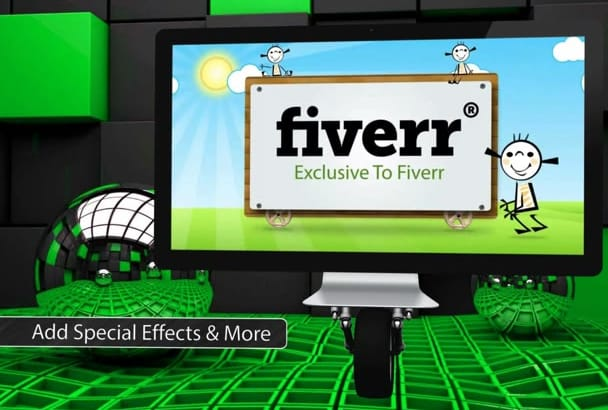 create a Moving Monitors Presentation ONLY on Fiverr