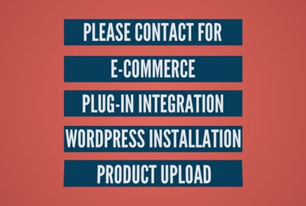 make a ecommerce site for you in wordpress using woocommerce