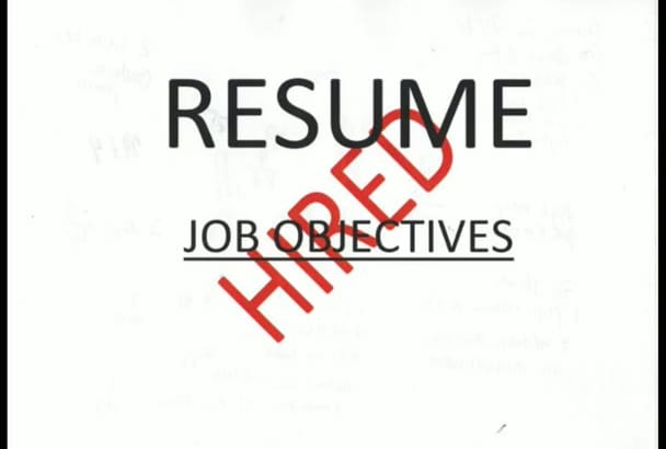 design you a winning resume or cover letter
