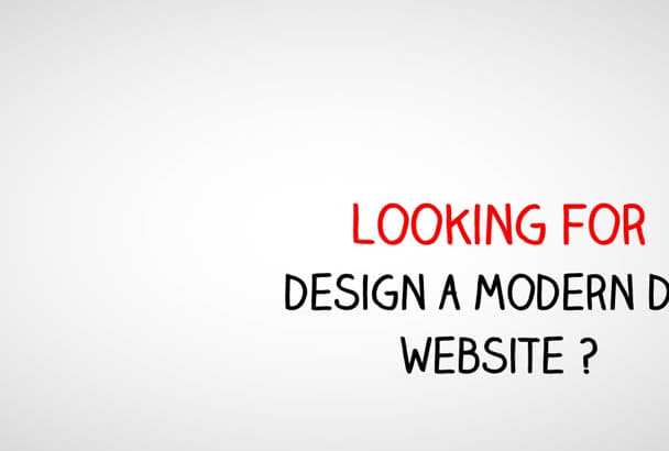 design your website for you
