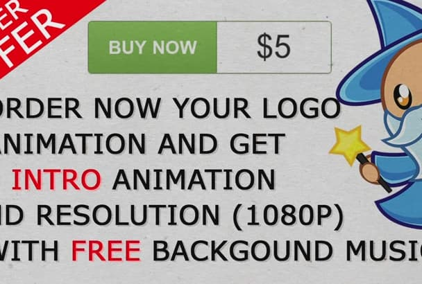 do logo animation with free music