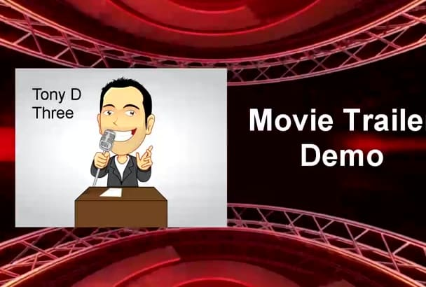 voice a movie trailer type of voice
