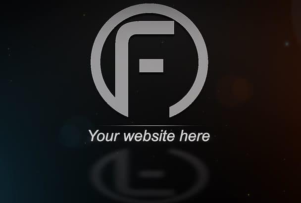 create your infinite corporate logo intro