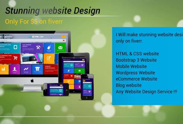 build Stunning Website Design