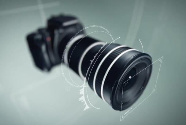 create this STUNNING camera display animation