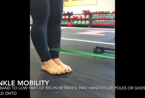 create stretch and mobilization instructional videos for you
