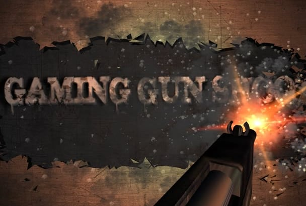 create amazing gun shoot video intro