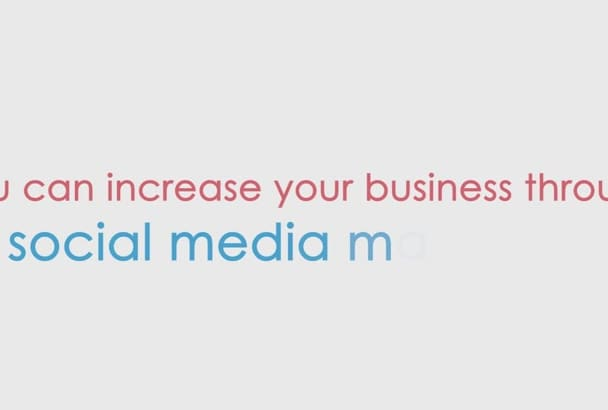 do social media promotions for your business
