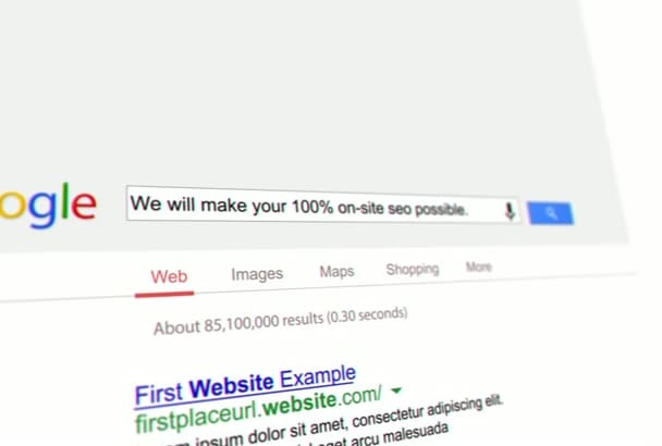 do WordPress SEO for your site And Onpage Optimization