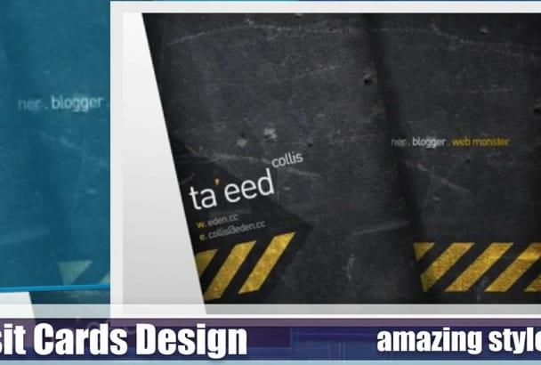 design For You Visit Cards