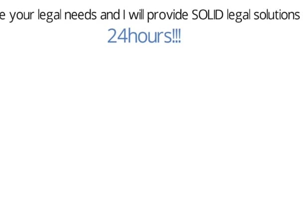 write POWERFUL legal document,contract, agreement