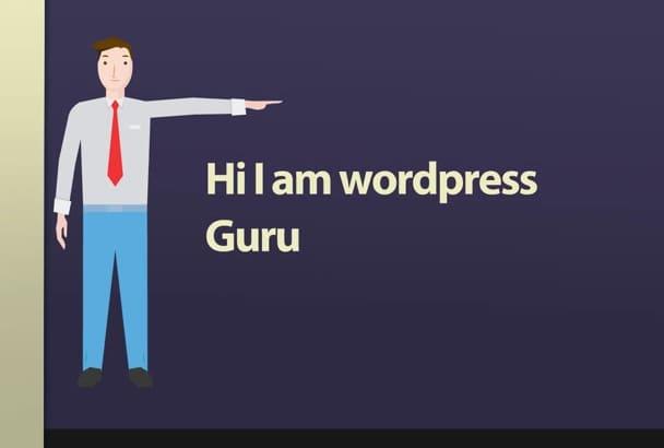 build a best website from wordpress