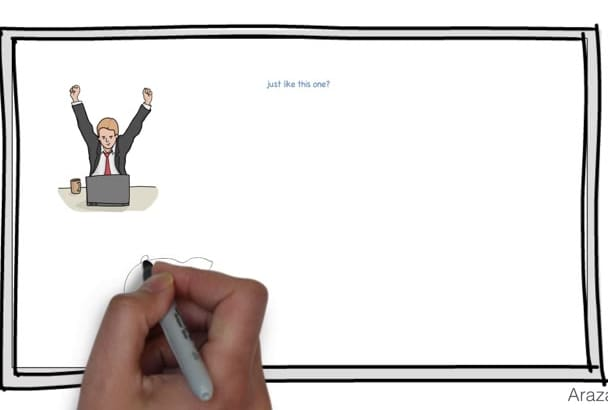 create an informative Whiteboard Explainer Video