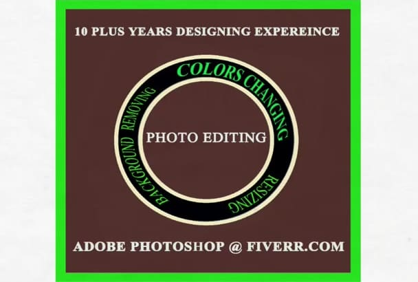 edit your photos including background remove, resize, filters, color change etc