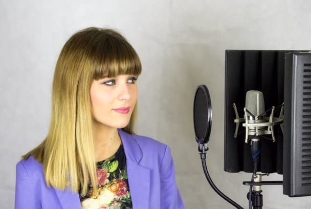 professionally sing your song at my studio in 48 hours