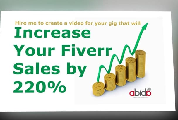 create Stunning HD 1080p Slideshow for your Fiverr gig Video
