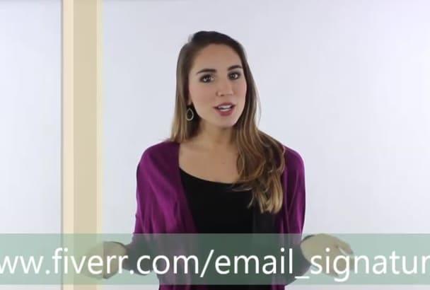 design multiple email signature