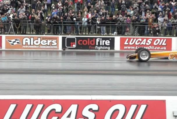 send you Slow Motion Jet Car footage intro