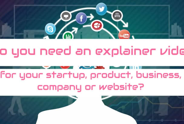 make a professional explainer video