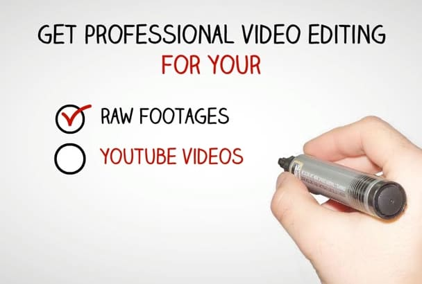 professional edit your videos