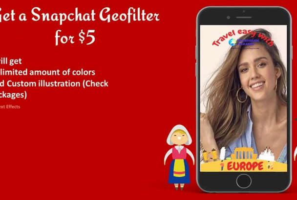 design an AWESOME Snapchat geofilter